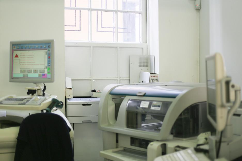 Divisiones Laboratorio